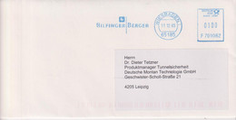 Absenderfreistempel - Wiesbaden, Bilfinger Berger, 2003 - Briefe U. Dokumente