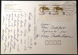 Germany - 1991 - Mi:DE 1488, Sn:DE 1478, Yt:DE 1320 - MF-  On Postcard - Look Scans - Briefe U. Dokumente