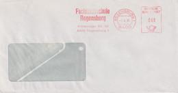 Absenderfreistempel - Regensburg, Fachhochschule, 1981 - Briefe U. Dokumente