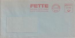 Absenderfreistempel - Schwarzenbek, Fa. Wilhelm Fette, 1979 - Briefe U. Dokumente