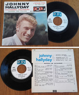 "RARE French EP 45t RPM BIEM (7"") JOHNNY HALLYDAY (1965) - Rock"