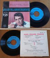 "RARE French EP 45t RPM BIEM (7"") JEAN-CLAUDE PASCAL (1962) - Collectors"
