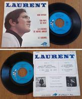 """RARE French EP 45t RPM BIEM (7"""") LAURENT (1968) - Collectors"""