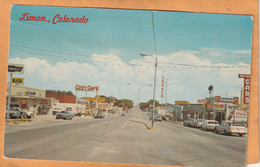 Limon Col Coca Cola Advertising Sign Old Postcard - Other