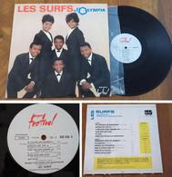 """RARE French LP 33t RPM BIEM (12"""") LES SURFS (1964) - Rock"""