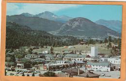 Estes Park Col Coca Cola Advertising Sign Old Postcard - Other