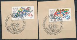 RDA- 7e Spartakiades De La Jeunesse YT 2098-2099 Obl./ DDR- Jugendspartakiade Mi.Nr. 2433-2434 Gest. - Gebraucht