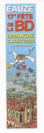 MP - 17e Fête De La BD à EAUZE - 2008 - - Bookmarks