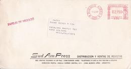SUD AM PRESS, REVISTAS MAGAZINES. ARGENTINE ENVELOPPE COMMERCIAL. CIRCULEE 1991. BUENOS AIRES A BOLIVAR.- LILHU - Lettres & Documents
