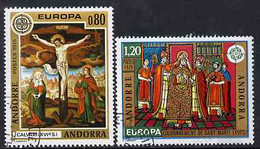 Andorra - French 1975 Europa (Paintings) Set Of 2 Superb Cto Used, SG F 262-63 - Gebraucht