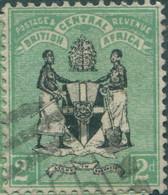 Nyasaland 1895 SG33 2d Black And Green Arms FU - Yunnan 1927-34