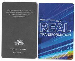The Venetian Casino & Hotel, Las Vegas, Used Contactless Hotel Room Key Card, # Venet-124 - Hotel Keycards