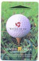 Cache Creek Casino Resort, Brooks, CA, U.S.A., Used Magnetic Hotel Room Key Card # Cachecreek-9 - Hotel Keycards