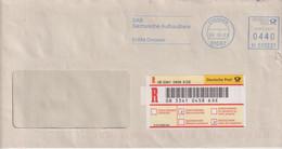 Absenderfreistempel - Dresden, Sächsische Aufbaubank (R-Brief Rückschein), 20036 - Briefe U. Dokumente