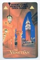 The Venetian Casino & Hotel, Las Vegas, Used Magnetic Hotel Room Key Card, # Venet-22 - Hotel Keycards