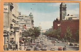 Washington DC Coca Cola Advertising Sign Old Postcard - Washington DC