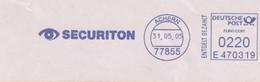 Absenderfreistempel - Achern, Securiton (Aalarm- Und Sicherheitssysteme), 2005 - Briefe U. Dokumente