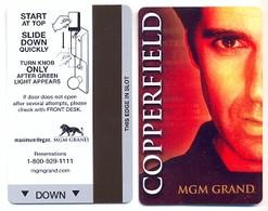 MGM Grand Casino & Hotel, Las Vegas, Used Magnetic Hotel Room Key Card # Mgm-13 - Hotel Keycards