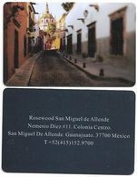 Rosewood Hotel, Guanajuato, Mexico, Used Contactless Hotel Room Key Card, # Rosewood-45 - Hotel Keycards