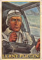 III ème REICH GUERRE-KRIEG 1939-1945-Propagandakarte-Propagande-AVIATIK-Luftwaffe-Fliegercorps-Korpsführer-ETAT MOYEN - Oorlog 1939-45