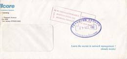 """FRANQUEO PAGADO"". PARAGUAY ENVELOPPE COMMERCIAL. CIRCULEE 1992. ASUNCION.- LILHU - Paraguay"
