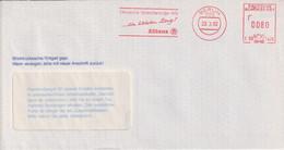Absenderfreistempel - Berlin, Deutsche Vericherungs- AG Allianz, 1992 - Briefe U. Dokumente