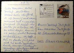 Germany - 1991 - Mi:DE 1539, Sn:DE 1649, Yt:DE 1367 On Postcard - Look Scans - Briefe U. Dokumente