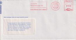 Absenderfreistempel - Berlin, Deutsche Vericherungs- AG Allianz, 1993 - Briefe U. Dokumente