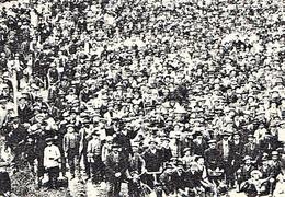 MILANO Muratori Milanesi Riuniti Nell'arena L'ultimo Giorno Di Sciopero Durato Dal 4 Aprile Al 6 Giugno 1910 - Milano (Milan)