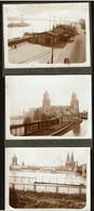 3 Photos Originales 12 X 9 Cm - 1922 - Cologne - Köln - Voir Scans - Lieux