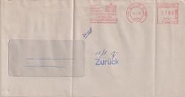 Absenderfreistempel - Berlin, Der Generalbundesanwalt Beim Bundesgerichtshof / Tag Der Deutschen Einheit, 1991 - Briefe U. Dokumente