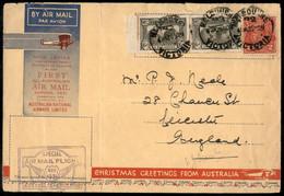 Oltremare - AUSTRALIA - 1931 (20 Novembre) - Christmas Greetings - Melbourne Leicester - Zonder Classificatie