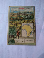 Mozambique.eucalol SOAP Cromo(1) No Postcards 6*9cmts.sisal Plantation In Vila Bocage.drying Fiber...better Condition.. - Mozambique