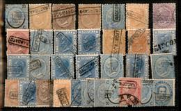 Lotti&Collezioni - Regno - 1863/1867 - Raccomandato - 33 Valori De La Rue/Torino Usati Anche Ripetuti - Interessante Ins - Non Classés