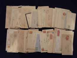 Lotti&Collezioni - Regno - REGNO - Numerale A Punti/a Sbarre - Lotto Di Un Centinaio Di Pieghi E Lettere Con Annullament - Non Classés