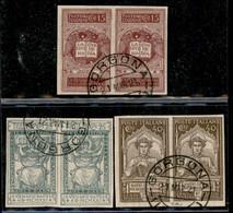 Lotti&Collezioni - Regno - REGNO - 1911/1927 - Collezioncina Dei Valori Del Periodo Con Varietà Minori - Gomma Originale - Non Classés