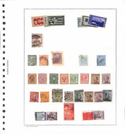 Lotti&Collezioni - NULL - REGNO/REPUBBLICA - 1863/1962 - Miscellanea Di Valori Nuovi E Usati Su 6 Fogli Marini A Listell - Non Classés