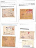 Lotti&Collezioni - Posta Militare - POSTA MILITARE - 1918/1919 - Insieme Di 38 Oggetti Postali Montati In Album Artigian - Non Classés