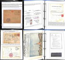 Lotti&Collezioni - Posta Militare - POSTA MILITARE - 1918/1919 - Collezione Di 157 Oggetti Postali Riguardante L'interve - Non Classés