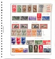 Lotti&Collezioni - Colonie - COLONIE ITALIANE - 1895/1941 - Insieme Di Valori Nuovi Con Ripetizioni Delle Colonie Italia - Non Classés