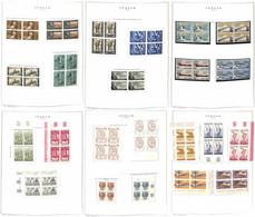Lotti&Collezioni - Repubblica - REPUBBLICA - 1955/1977 - Collezione Di Valori E Serie Complete Del Periodo In Quartine I - Non Classés