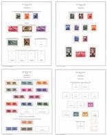 Lotti&Collezioni - Occupazioni II Guerra Mondiale - TRIESTE A - 1945/1954 - Collezione Di Valori Del Periodo In 12 Fogli - Non Classés