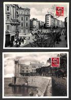 Lotti&Collezioni - Trieste AMG VG - TRIESTE AMGVG - 1947 - Sedici Cartoline Diverse Con I Valori Dell'emissione Sul Lato - Non Classés