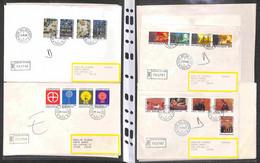 Lotti&Collezioni - VATICANO - VATICANO - 1990/1999 - Raccoglitore Con 37 Buste Raccomandate (anche Di Grande Formato) De - Non Classés