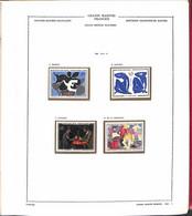 Lotti&Collezioni - FRANCIA - FRANCIA - 1961/1986 - Collezione Avanzata Tematica Quadri Montata In Parte Su Album Euralbo - Non Classés