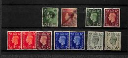 Lotti&Collezioni - GRAN BRETAGNA - GRAN BRETAGNA - 1939/1951 - Giorgio VI - Insieme Di Circa 140 Valori Principalmente U - Non Classés