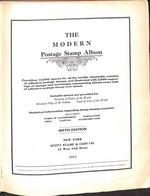 """Lotti&Collezioni - MONDIALE - MONDIALE - 1841/1917 - Album """"Modern Postage Stamp Album"""" Edizione Scott - Raccolta Con Ol - Non Classés"""