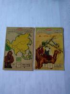 Arabia Saudita.saudi Arabia.eucalol SOAP Cromo No Postcards(6)country Views.6*9cmts.from Brasil Better Condition.1954. - Arabie Saoudite