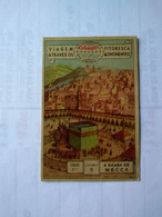 Arabia Saudita.saudi Arabia.eucalol SOAP Cromo No Postcards(1)kaaba In Mecca.6*9cmts.from Brasil Better Condition.1954. - Arabie Saoudite