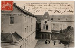 DPA 72 Château Du Loir Ecole Supérieure De Jeunes Filles - Chateau Du Loir